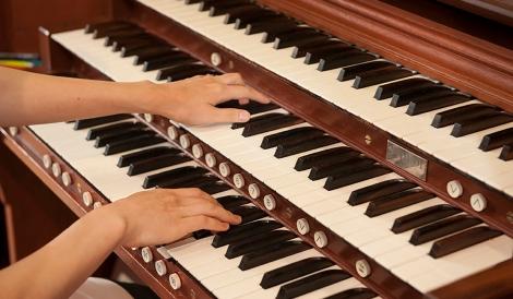 Organ in St. Vincent's chapel  Organ_116.JPG 156_2013 Ed Pfueller 6/17/13