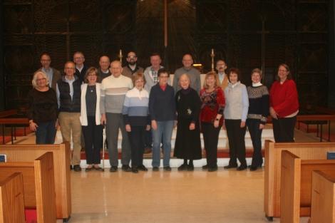 Potluck attendees 20200201